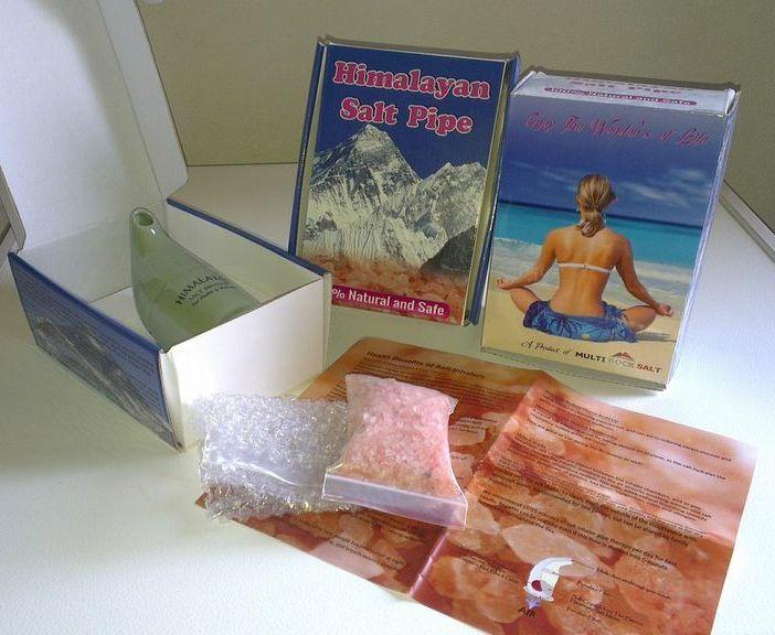 salt Inhaler packing
