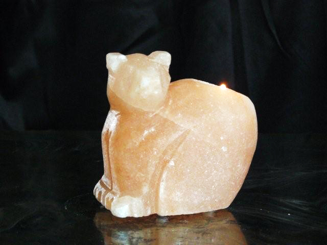 Animal Salt candle holders