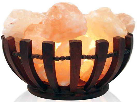 Himalayan Wooden Salt Lamps