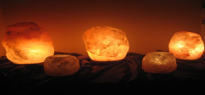 Can Salt Lamps Give You Headaches : Himalayan Natural Salt Lamps Multi Rock Salt Company